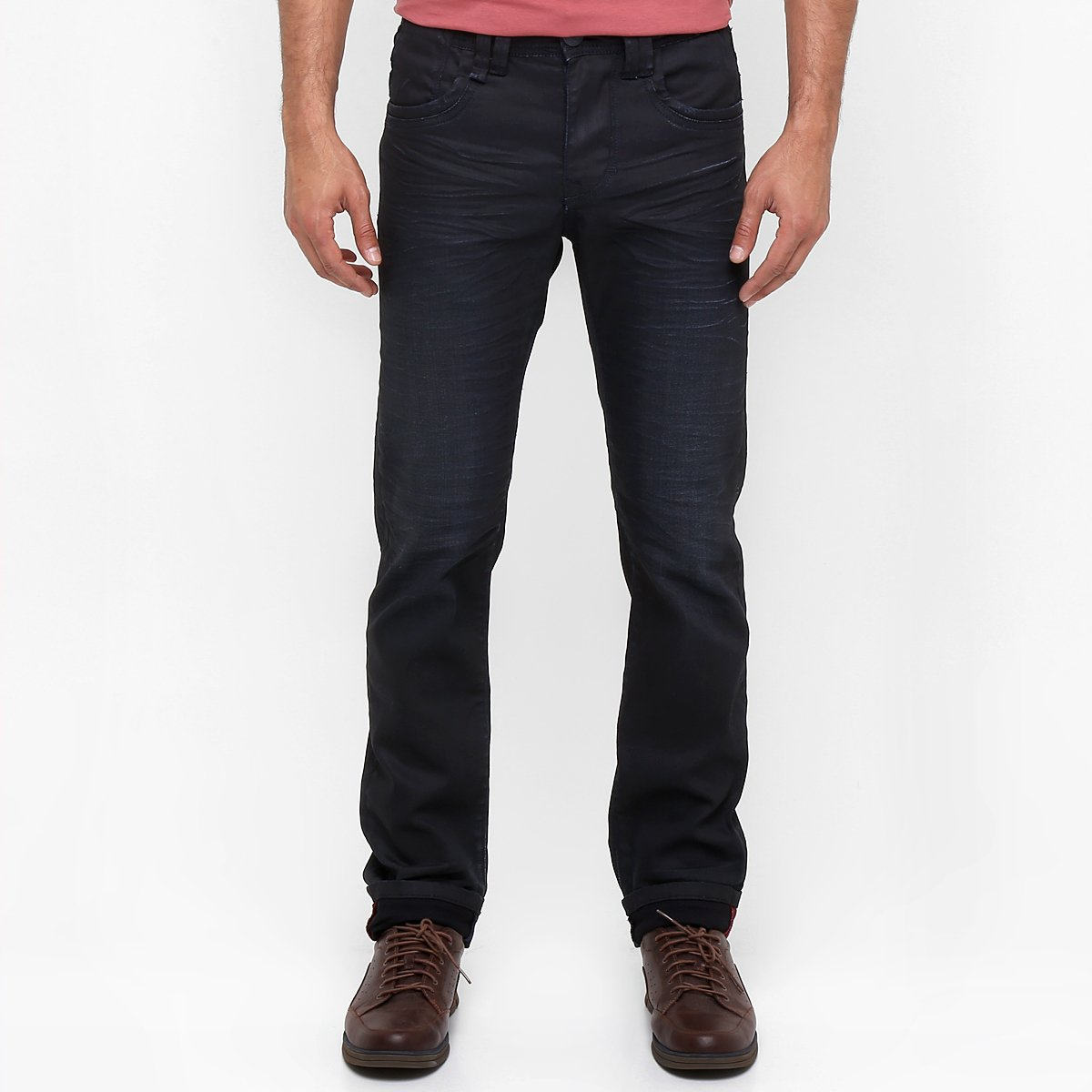 4519742ad Calça Jeans Zune Skinny Resinada - Compre Agora