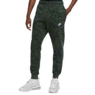 Calça Jogger Nike Sportswear Club Fleece  Masculina - Verde M