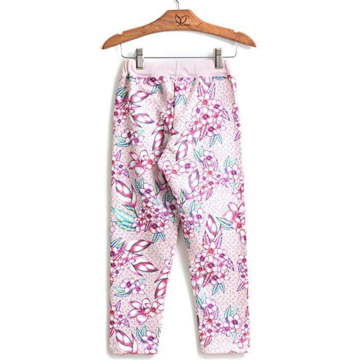 Pink Jokenpô Calça Calça Floral Jokenpô Pink Infantil Jokenpô Infantil Floral Calça Infantil Eawfq6wY