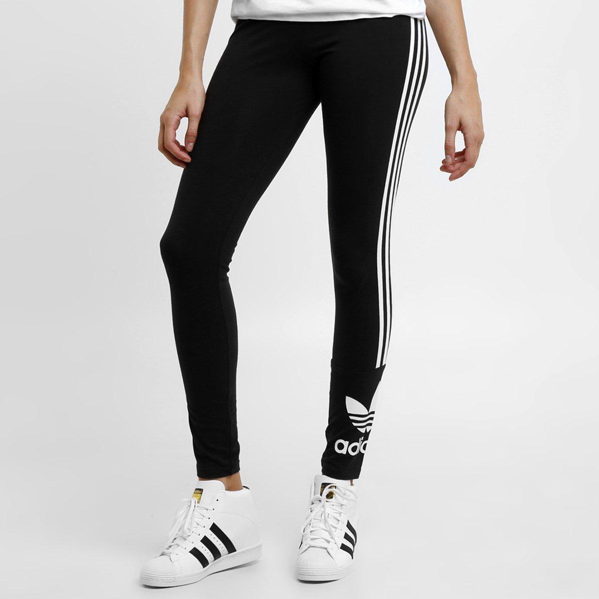d0b54e0ac Calça Legging Adidas 3 Stripes - Compre Agora