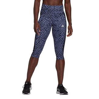 Calça Legging Adidas Capri Zebra Feminina
