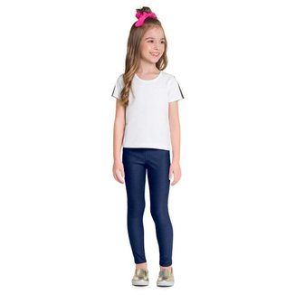 Calça Legging Brandili Infantil Menina