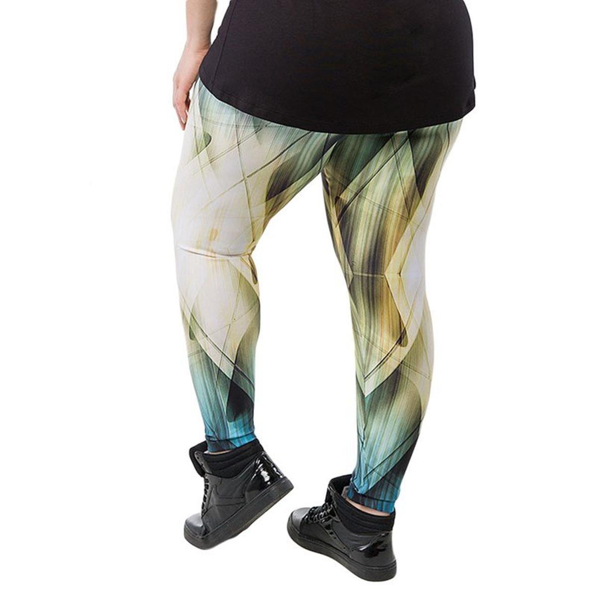Calça Candace Candace nbsp;Trinys Legging Verde Legging Plus Calça Plus Size rXnCrq