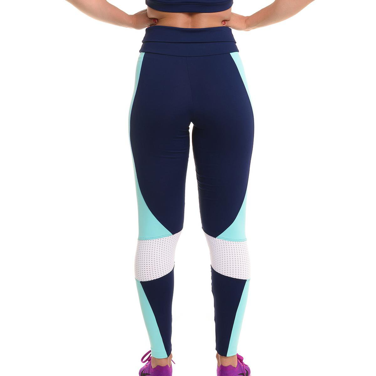 Elegance Proteção com Proteção Solar Legging Sandy Marinho Legging Calça Calça com xnUA58qOwn