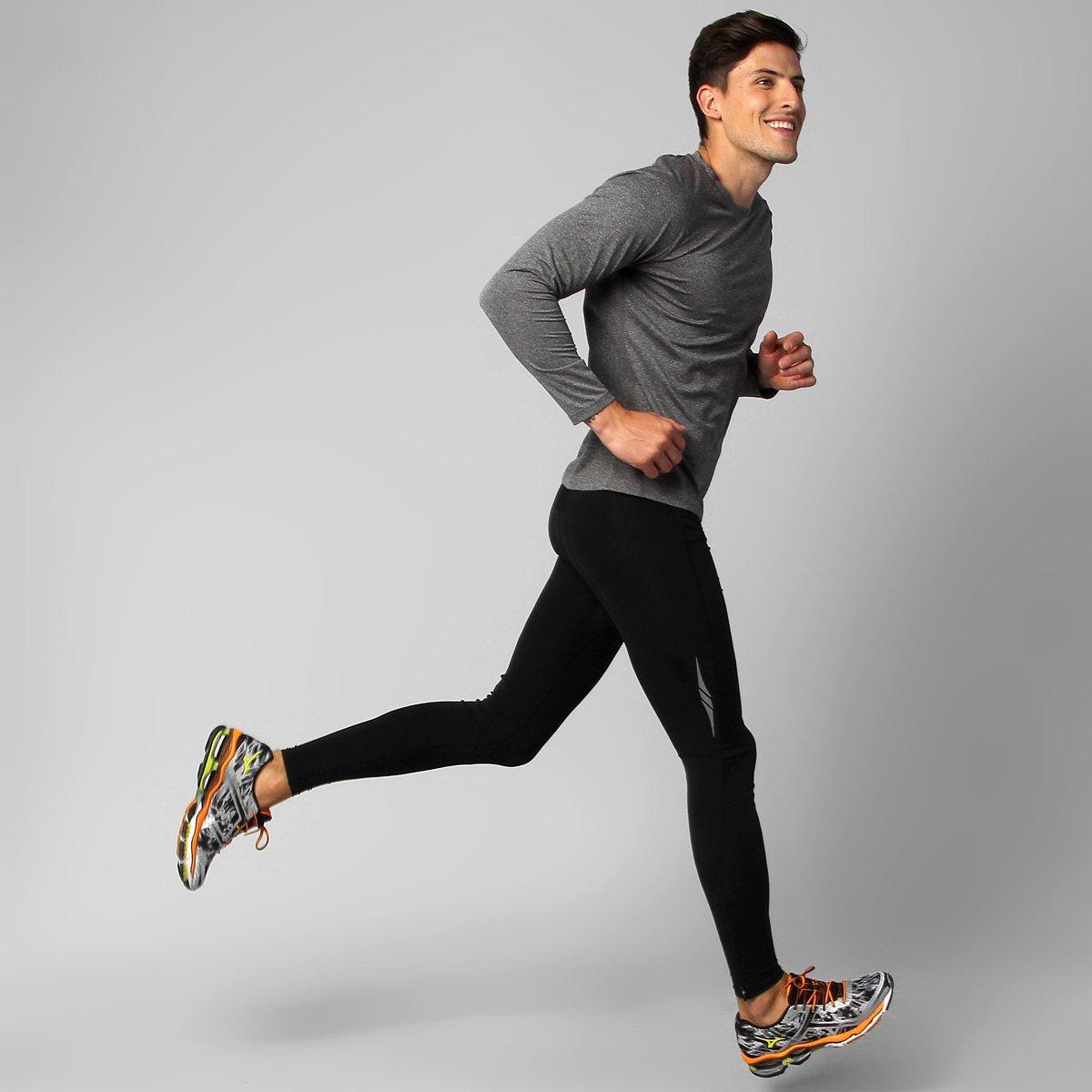 Calça Legging de Compressão Mizuno Run Feather - Compre Agora  3cd63a32ccd91