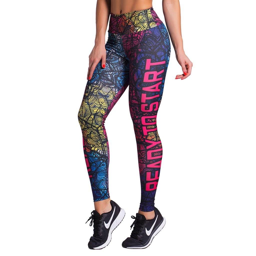 to e Ready Legging Start Duopen Azul Pink Feminina Calça A16qwSxx