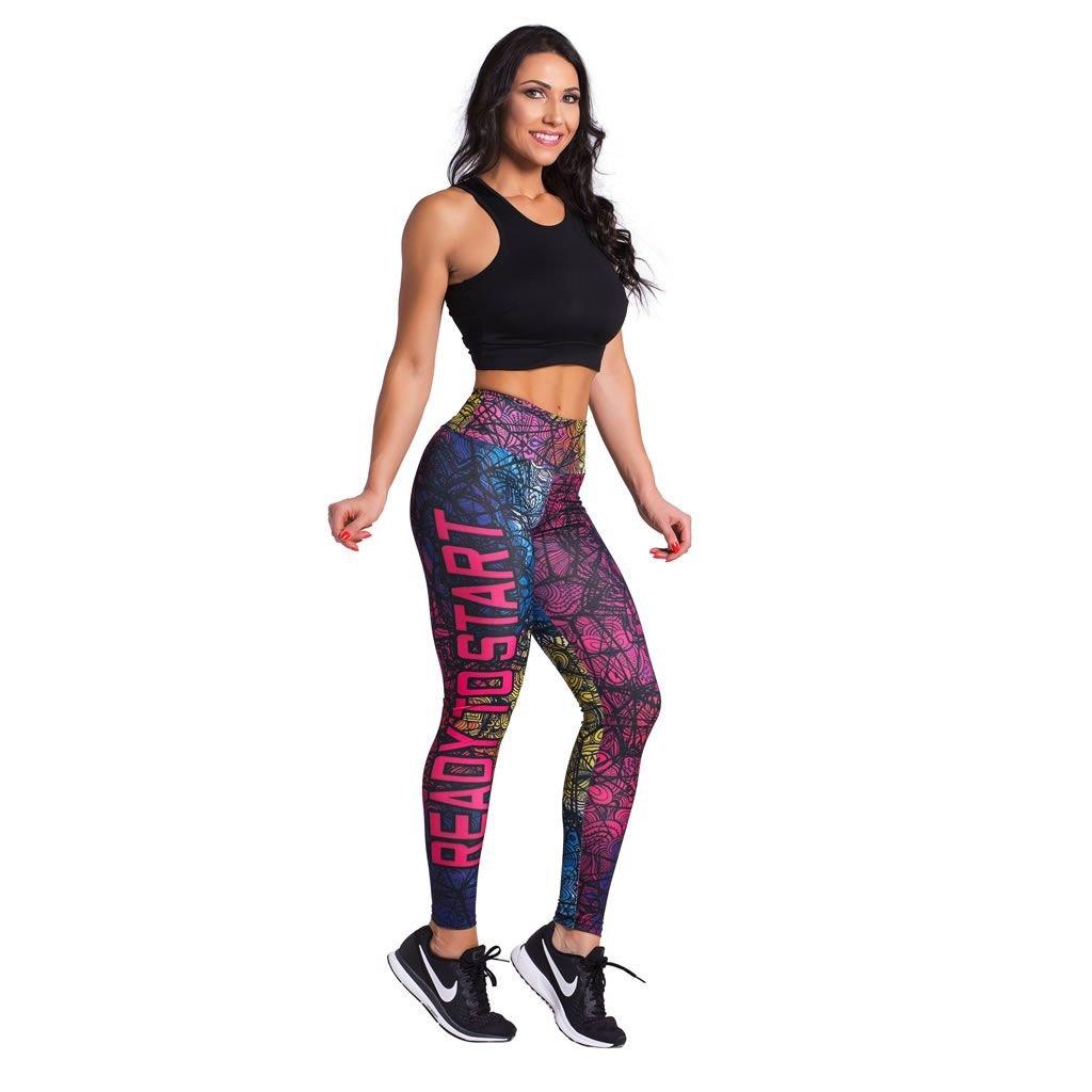Azul Legging Feminina Start Calça Pink e Duopen to Ready dvxxqCY