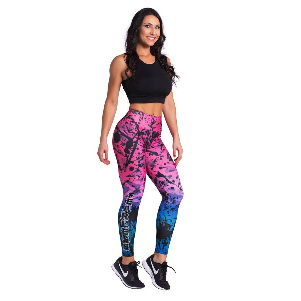 Rosa Duopen Calça Sublimada Duopen Legging Azul Legging e Feminina Calça Fearless 86xZxTq
