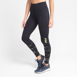 Calça Legging Fila Compress Fit Reflex Feminina