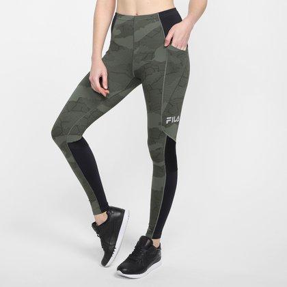 Calça Legging Fila High Tech Emanatrix Pocket Feminina