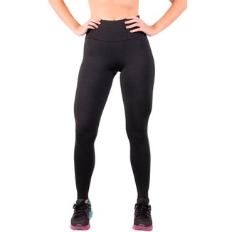 Calça Legging Fitness Cós Alto Feminina Feminina