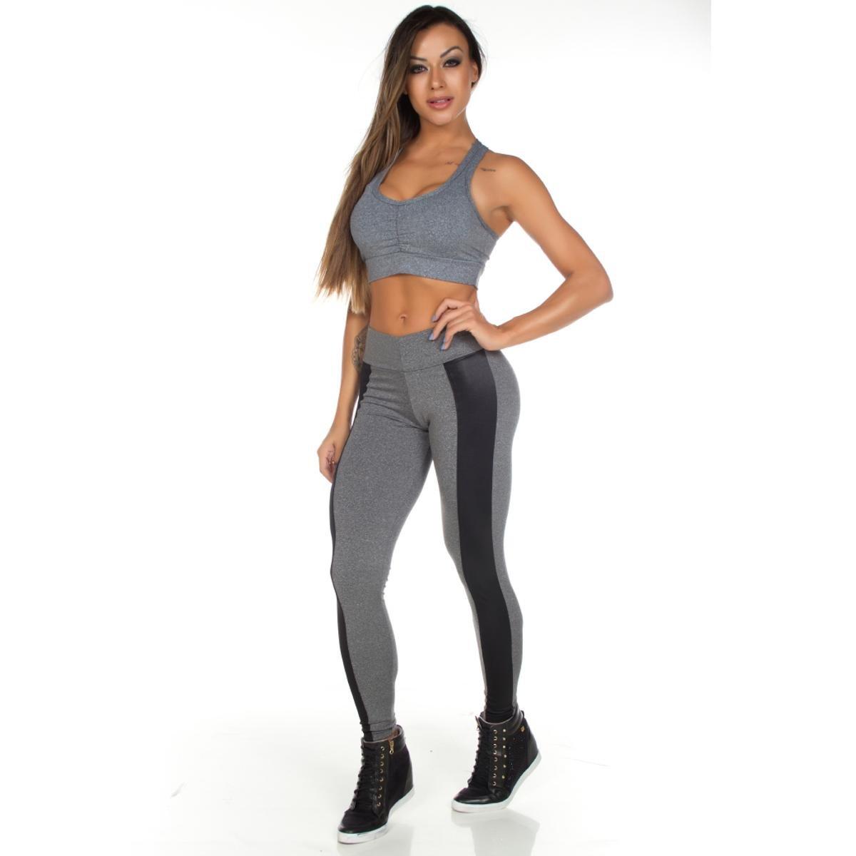 CALÇA CIRRÉ 3D PLUS SIZE - Jf Moda Fitness