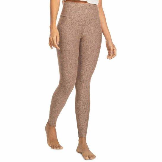 Calça Legging Fusô Live! Balance Feminina - Marrom