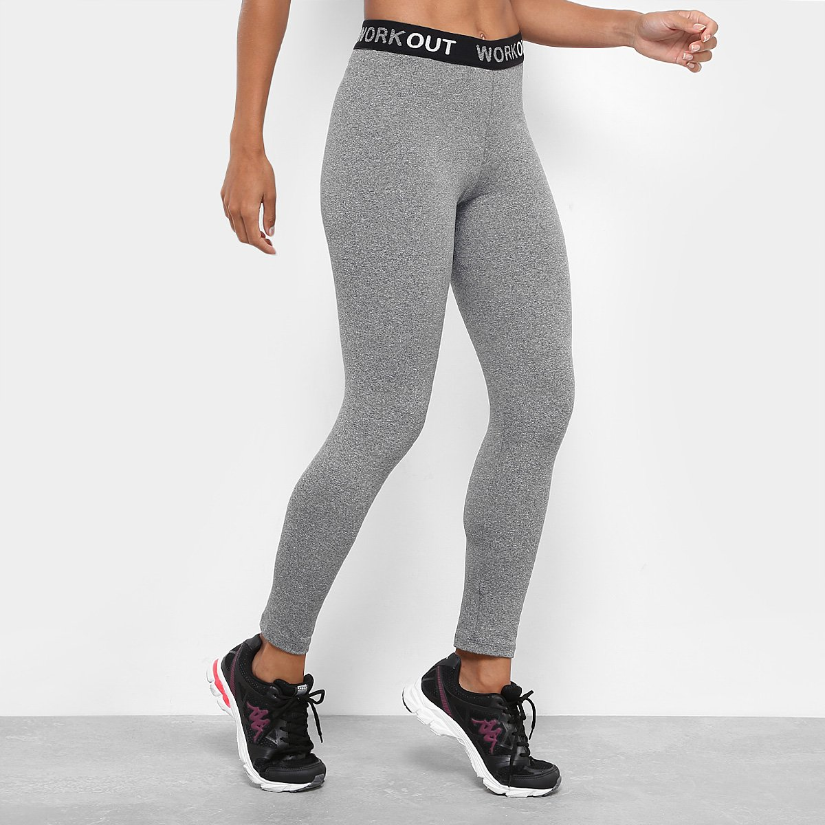 Calça Legging Gonew Workout Mescla Feminina Legging Calça aOSznHw