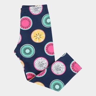 Calça Legging Infantil Kyly Estampada Feminina