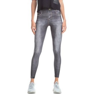 Calça Legging Jeans Attitude Live! Feminina