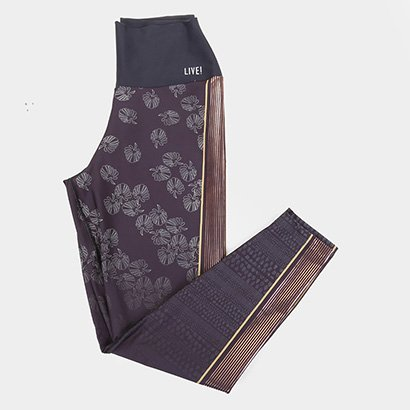 Calça Legging Live! Fuso Nomad Plus Size Feminina - Feminino