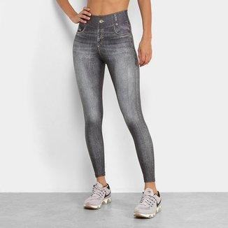 Calça Legging Live! Jeans Attitude Feminina