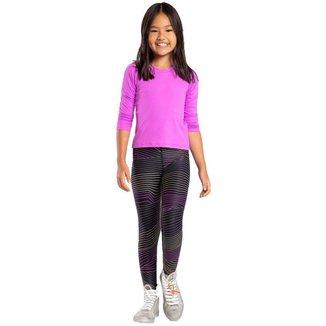 Calça Legging Live Infantil Color Reflex