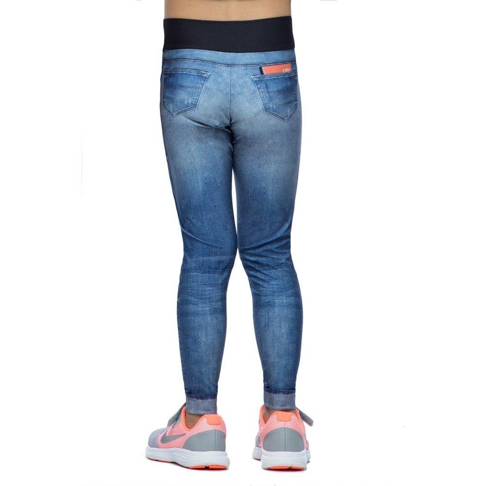 6d0daa1729 Calça Legging Live Infantil Jeans - Azul - Compre Agora
