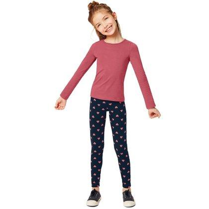 Calça Legging Malwee Infantil Feminina