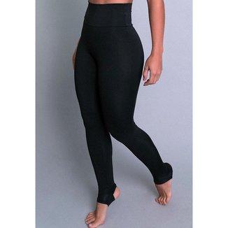Calça Legging Mvb Modas Pezinho Cintura Alta Feminina