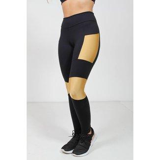 Calça Legging Poliamida com Bolso Galvic