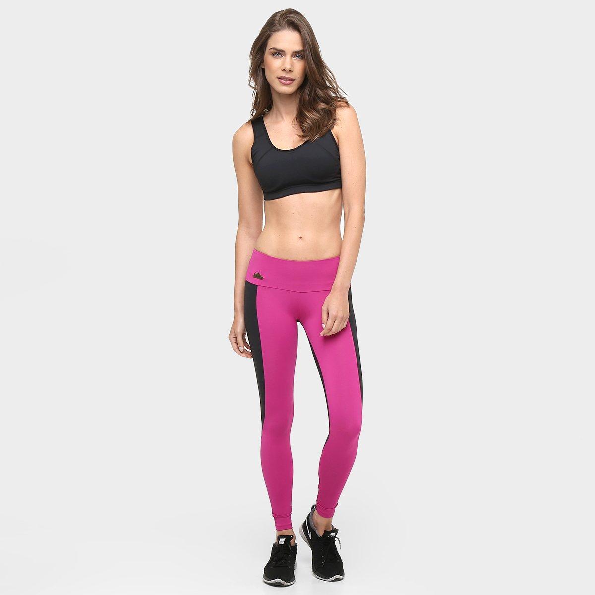 Legging Victória York e Calça Sawary Fitness Preto Feminina 4 Pink wSddqIt