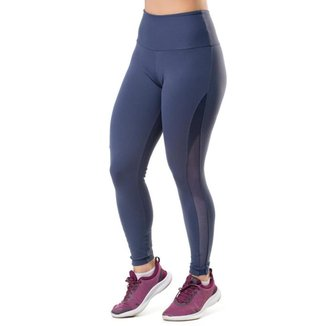 Calça Legging Side Kick Elite Feminina UV50+ Fitness Esporte