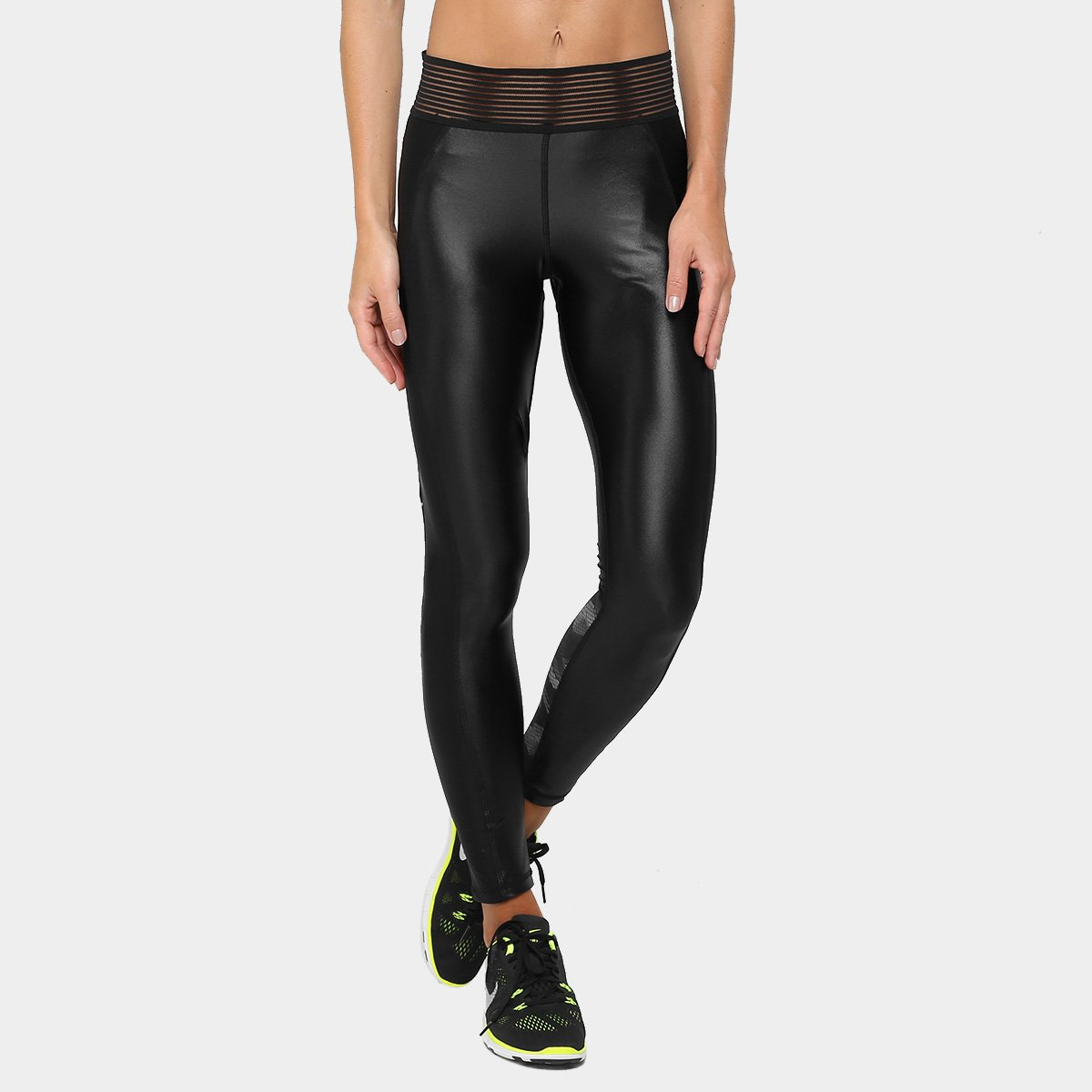 We e Fit Feminina Legging Legging Chumbo Active Calça We Preto Calça nCaxZ6