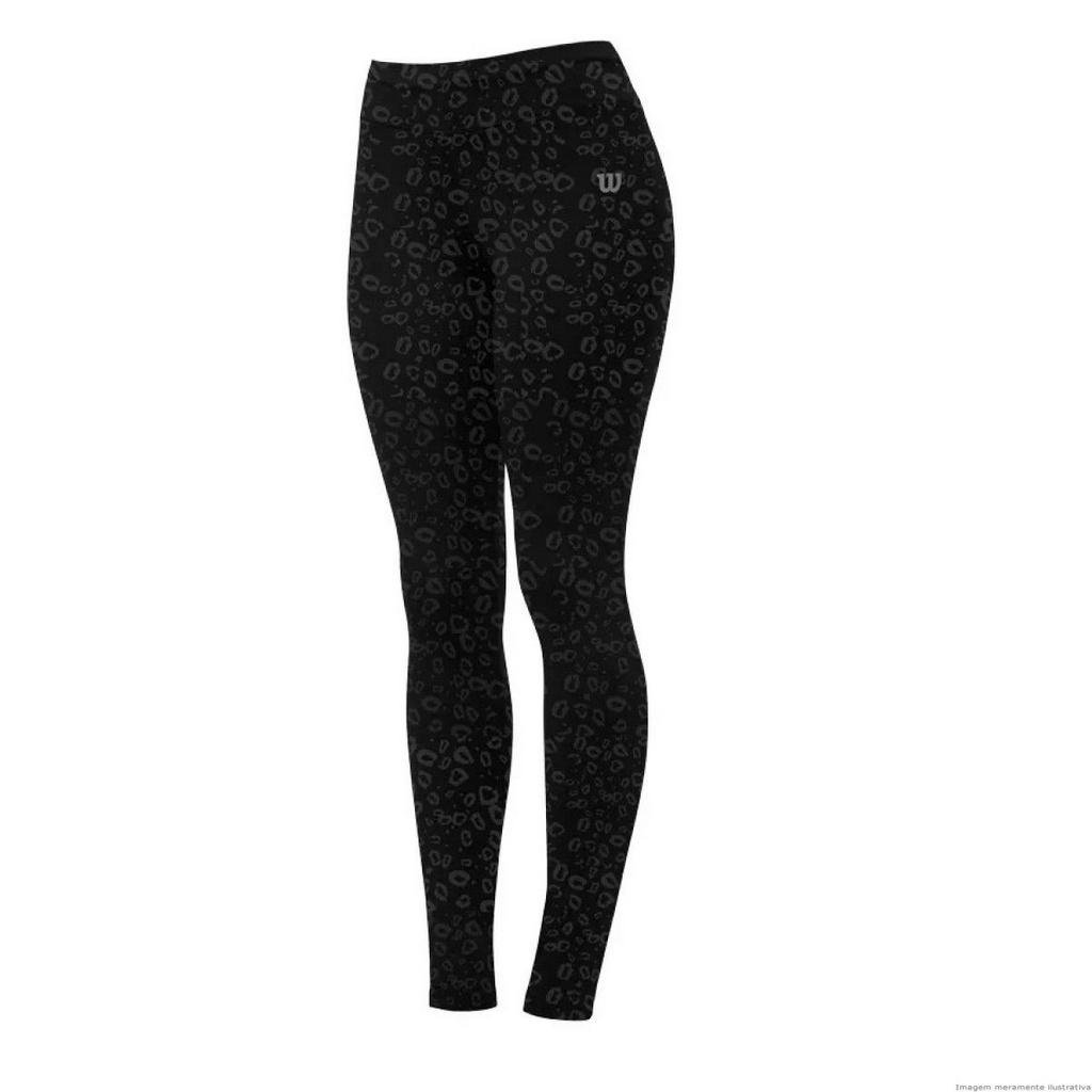 Tight Legging Calça Preto Wilson Calça Legging Tour OXqxT6
