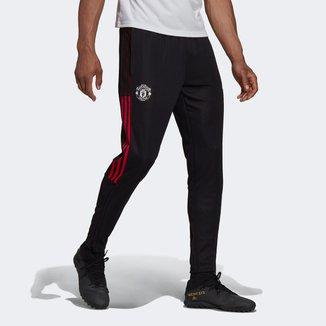 Calça Manchester United Treino 21/22 Adidas Masculina