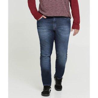 Calça Masculina Jeans Skinny Plus Size Razon - 10042659839