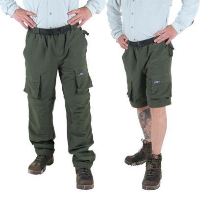 Calça Masculina Vira Bermuda Artemis King Brasil Uv 50+ - Masculino