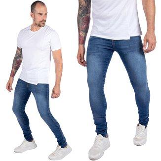 Calça Masculinas Skinny com Elastano Ballad Aco Jeans