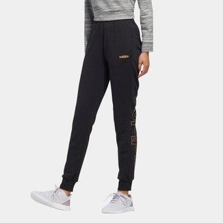 Calça Moletom Adidas Essentials Slim Feminina
