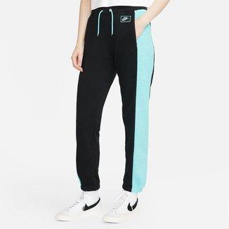 Calça Moletom Nike Icon Clash Bottom Feminina