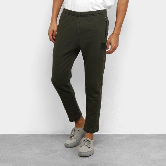 Calça Moletom Oakley Capri Athletic Masculina - Verde Militar