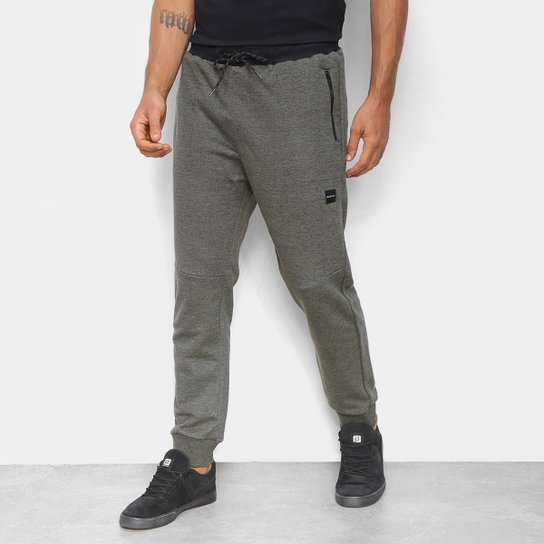 Calça Moletom Oakley Urban Masculina - Verde Militar