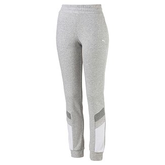 Calça Moletom Puma Athletics Sweat Pants Feminina