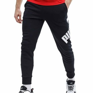Calça Moletom Puma Big Logo Pants Tr Masculina