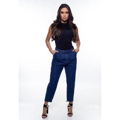 Calça Mom Fit Jeans Feminina Crocker - 48045