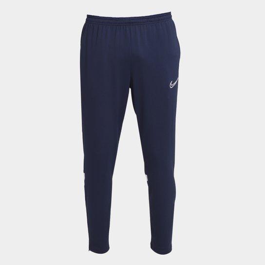 Calça Nike Academy Dri-Fit Masculina - Azul Escuro