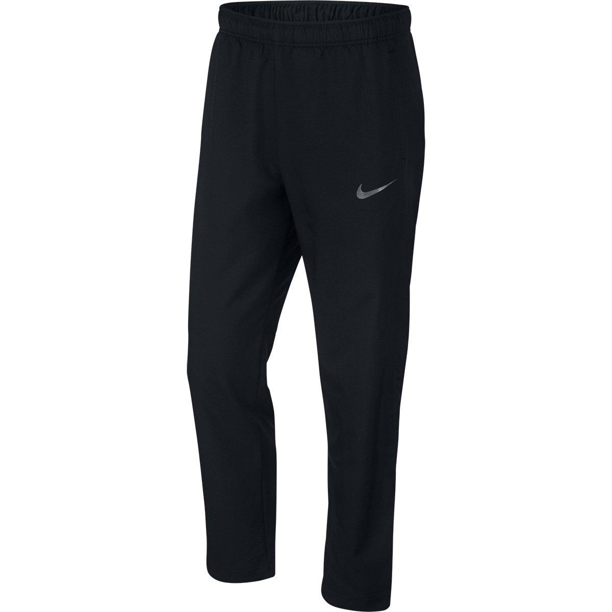 Calça Nike Dry Team Woven Masculina - Preto e Cinza - Compre Agora ... 7f99d787dd9ec