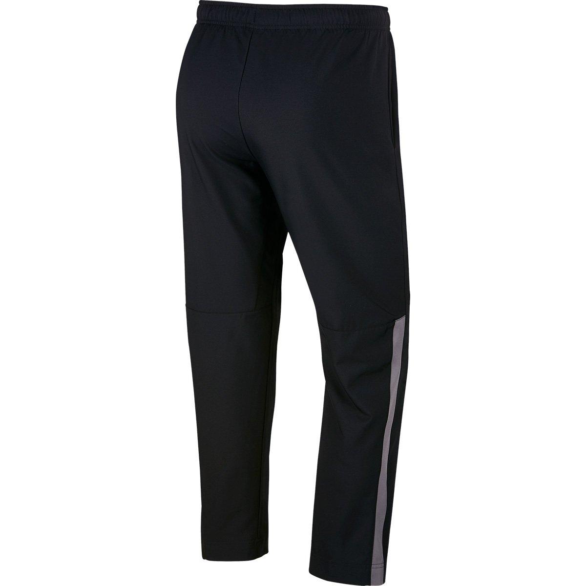 Calça Nike Dry Team Woven Masculina - Preto e Cinza - Compre Agora ... 9093e4e03acb0