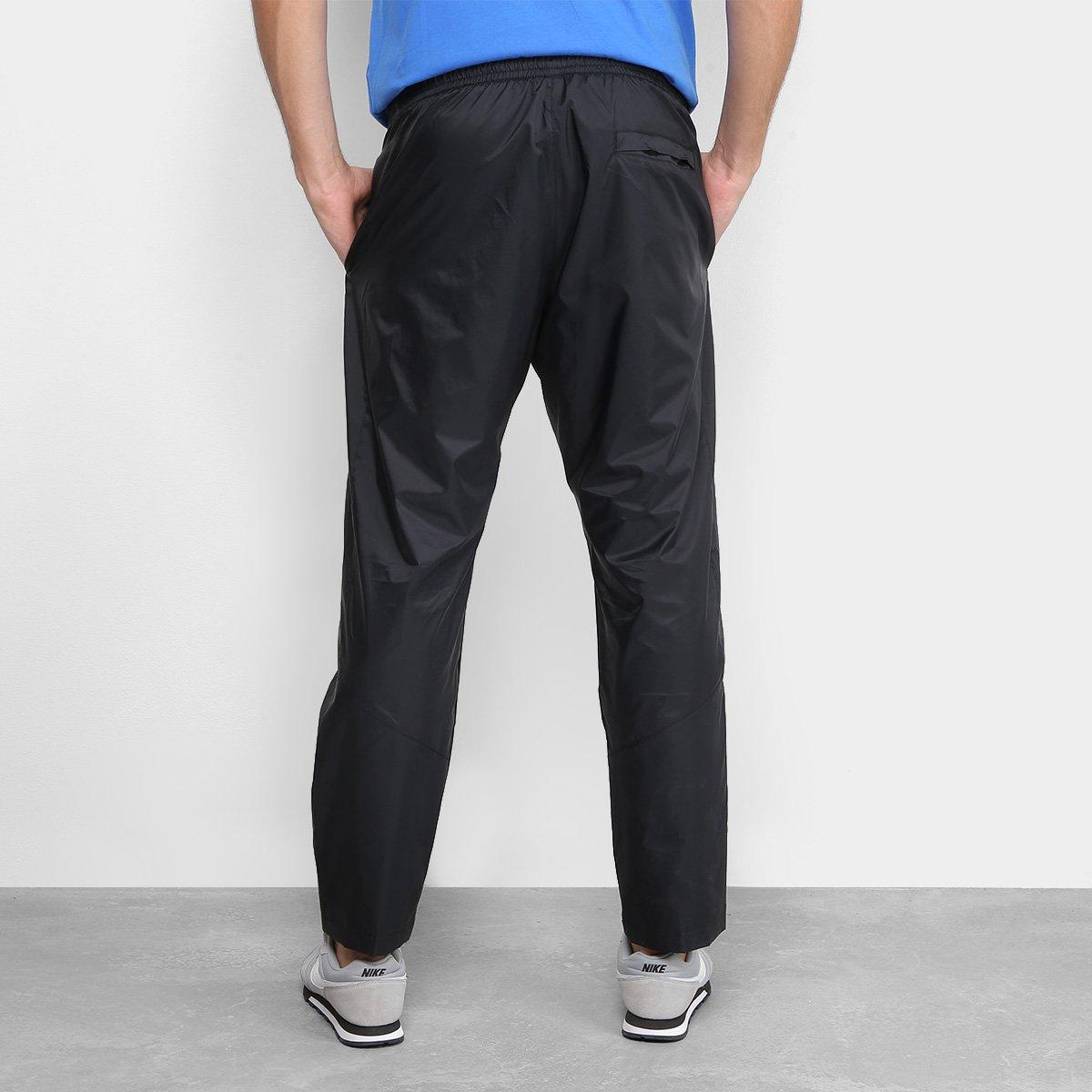 Calça Nike Nsw Track Masculina - Preto e Branco - Compre Agora ... 043e37b36a791