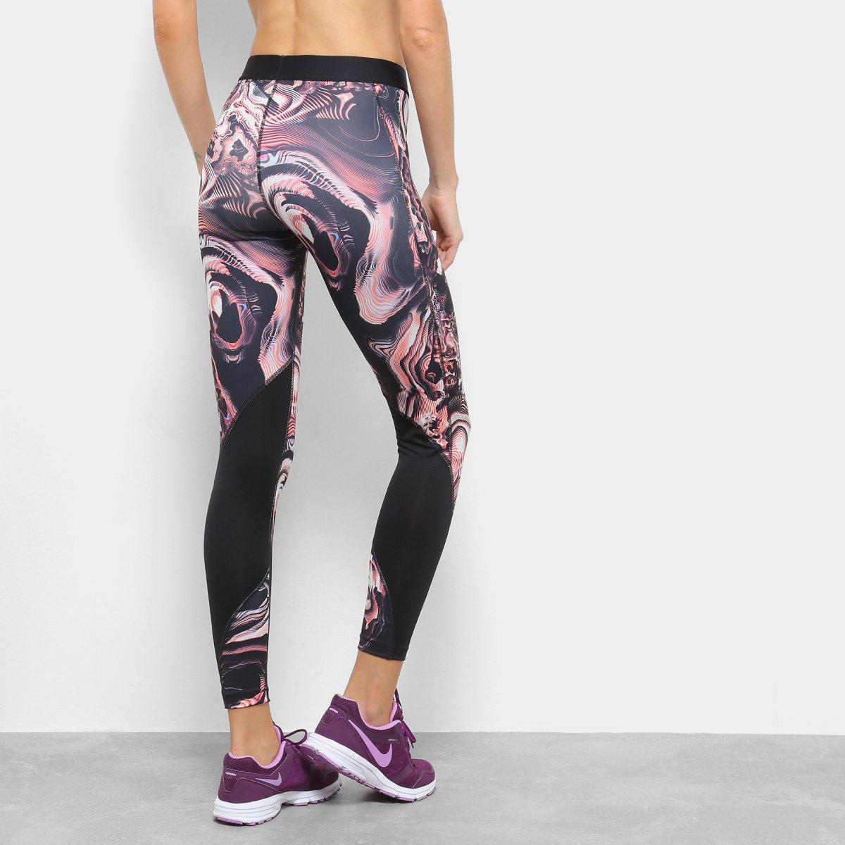 Tight Print Calça Feminina Coral Nike Nike Coral Calça BwwAtqnXx4