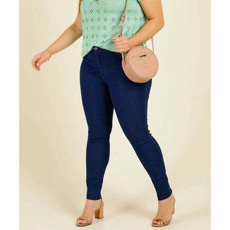 Calça Plus Size Feminina Jeans Skinny Biotipo - 10046222855