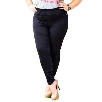 Calça Plus Size Jeans Legging 12663
