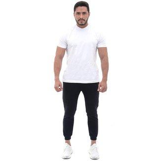 Calça Polo Culture Masculino Moletom Cós Elástico Cordão